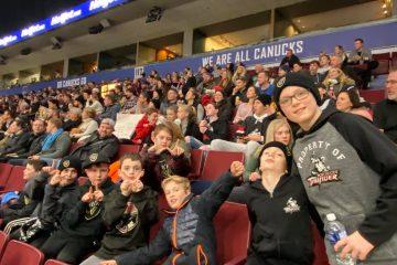 Port Moody representing @ Vancouver Warriors